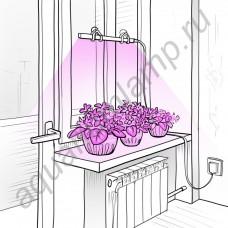 """Ультратонкий фитосветильник для растений на подоконнике """"Альтаир"""""""